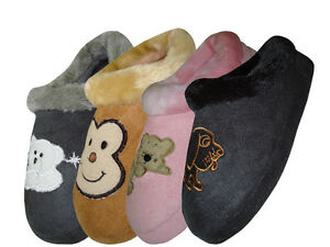 Easy USA Children Animal House Slippers