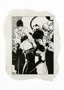 Leone-Frollo-2010-Di-litho-amp-oil-on-paper-039-punizione-039-non-authorized-copy-COA