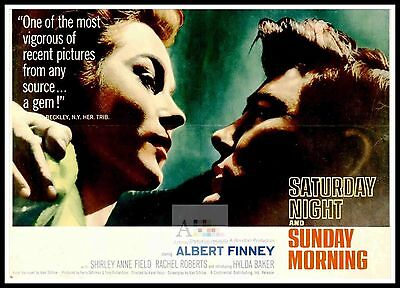 Saturday Night And Sunday Morning   British Movie Posters Classic Vintage  Films