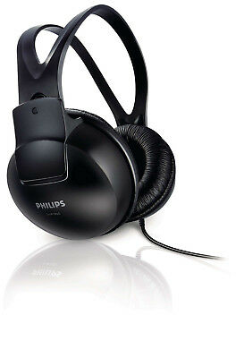 Philips SHP1900/97 Lightweight and Comfortable Headphones Black