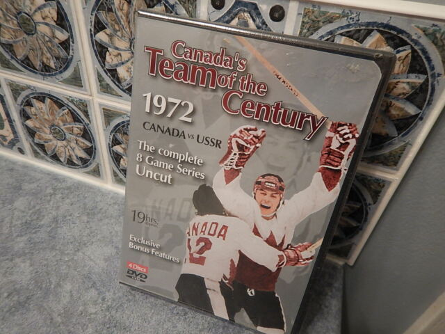 New Canada's Team of the Century 1972 Canada VS USSR 4 Discs DVD Set