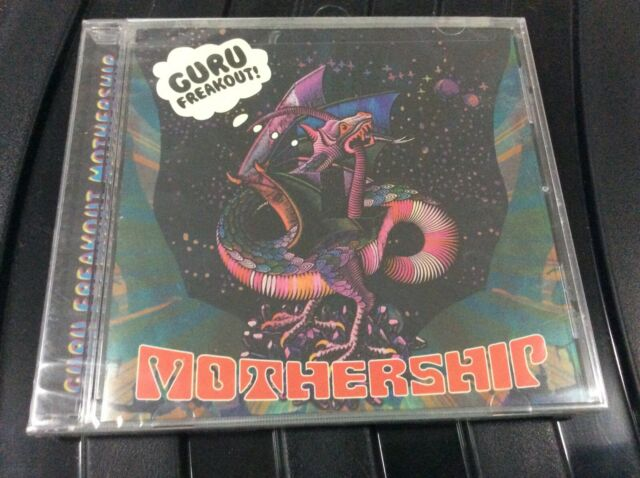 GURU FREAKOUT   MOTHERSHIP CD ALBUM NEW AND SEALED D1