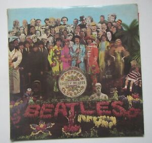 The Beatles - Sgt Peppers Lonely Hearts Club Band - LP Vinyl PMC 7027 Mono