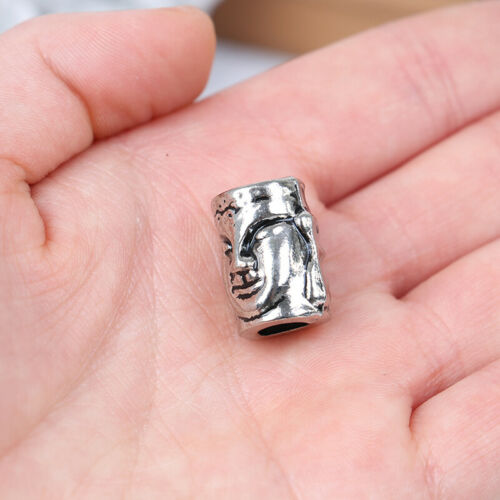 1PC Paracord Beads Metal Charms for Paracord Bracelet Braided Parts DIY Pendant√