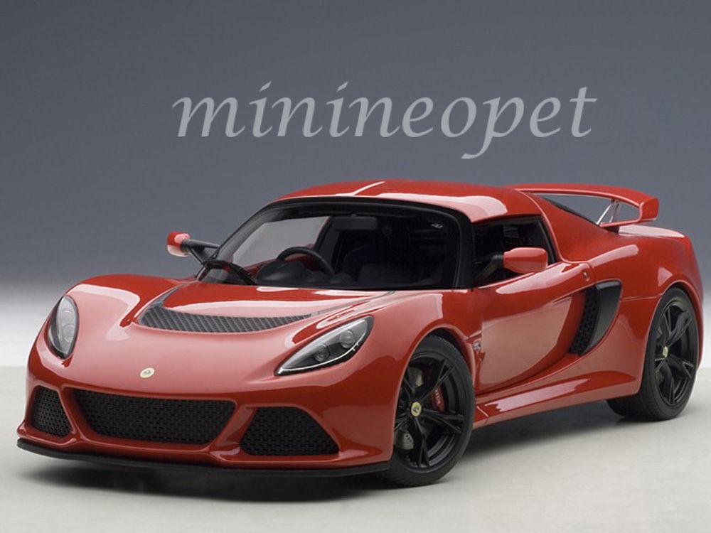 1:18 Autoart 75381 Lotus Exige S-rosso
