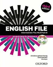Oxford ENGLISH FILE Intermediate Plus THIRD EDITION (2014) MultiPack B @New@