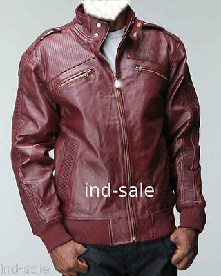 Custom Tailor Made Any All Sizes Genuine Leather Jacket Stylish Biker Handmade
