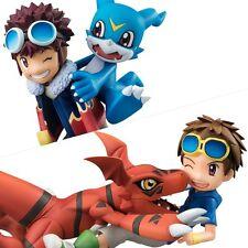 G.E.M. Digimon Adventure 02 Daisuke & Buimon / Tamers Guilmon & Takato set Japan