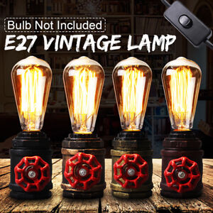 E27-Antique-Vintage-Wall-Light-Sconce-Lamp-Bulb-Socket-Holder-Fixture-Switch