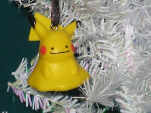 Pikachu Christmas Ornament.Details About Ditto Pikachu Christmas Ornament Pokemon Figure