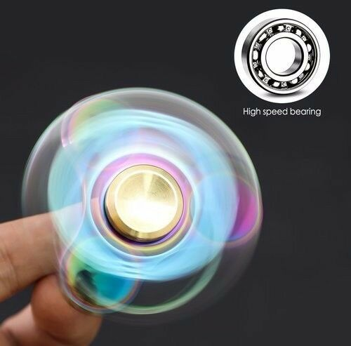 UFO SPINNER New Version Fidget Spinner Toy Durable Stainless Steel Bearing High