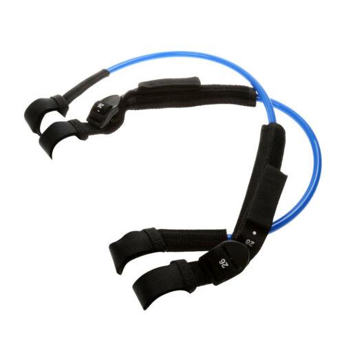 2 x Einstellbar Windsurf Waist Harness Line Hüfttrapez Seil Schnur Band