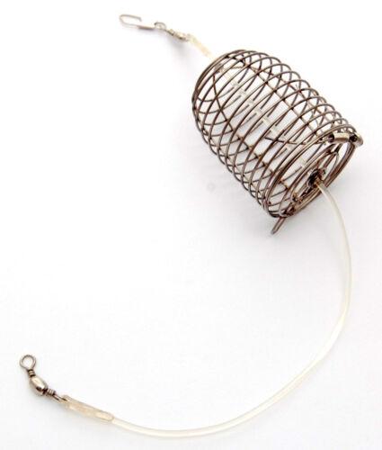 Carp Cage Fishing Feeder Method /& Hair Rig Hook #4 Coarse Bait Fishing Tackle