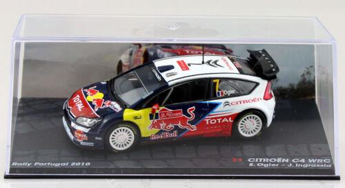 Cast Citroen c4 WRC Rally 2010 #7 Ogier 1:43 Ixo//Altaya maqueta de coche la//