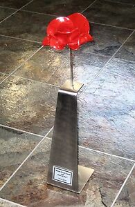 Poppy-Plaque-For-Tower-Of-London-WW1-WW2-for-Ceramic-Metal-Display-Stand