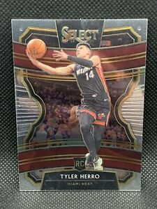 2019-Panini-Select-Tyler-Herro-HOT-Centered