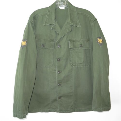 VINTAGE US ARMY VIETNAM FIRST PATTERN SHIRT UTILIT