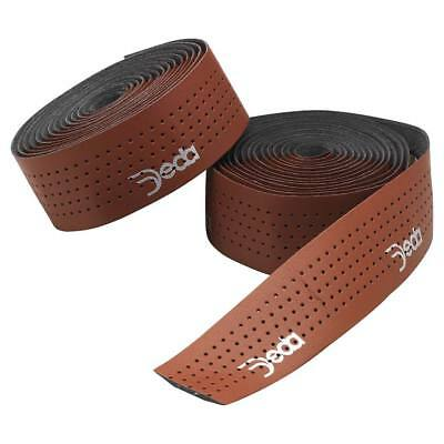 Velo Orange Leather Handlebar tape BROWN with wooden bar end plugs Top Quality