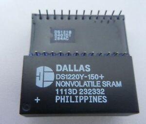 Nouveau 1PCS DS1220Y-200 Manu Dallas Encapsulation DIP 16k Nonvolatile SRAM