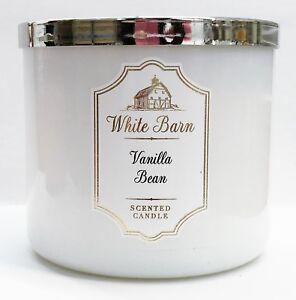 1 Bath & Body Works White Barn VANILLA BEAN Large 3-Wick ...