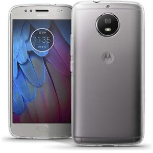 Brillante-Custodia-Gel-TPU-per-Motorola-Moto-G5S-Copertina-Case-Cover-Pellicola