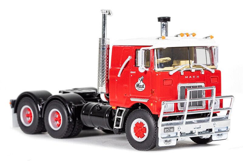 DRAKE Z01500 Mack F700 motriceCAB sopra motore Rosso Cabina EUAU  150 DIECAST Nuovo di zecca con scatola NUOVA