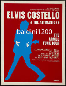 ELVIS-COSTELLO-HIGH-QUALITY-EARLY-VINTAGE-1978-CONCERT-POSTER
