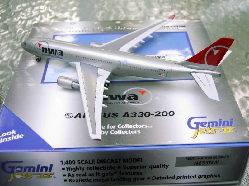Gemini northwest airlines a330 - 200 gjnwa556 neue 1 400