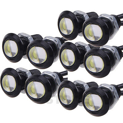 10 X 9W LED Eagle Eye Light Car Fog DRL Daytime Reverse Backup Signal Parking