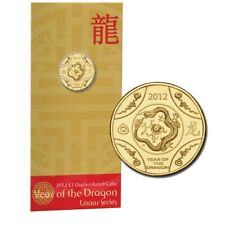 2012 UNC $1 Australian Year of the Farmer Coin on Card Best Circulating COTY