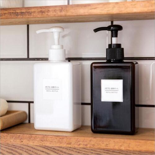 Kitchen Bathroom Countertop Empty Foaming Soap Dispenser Pump Bottle Container