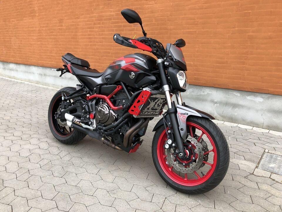 Yamaha, Yamaha MT07, ccm 700