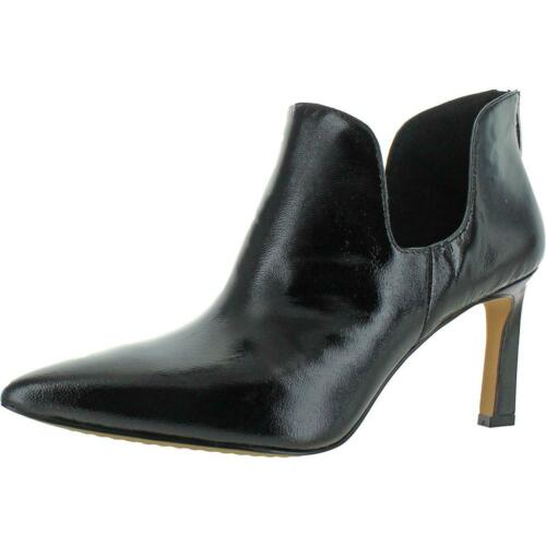 Vince Camuto Women/'s Randin Leather Pointed Toe Heeled Ankle Bootie