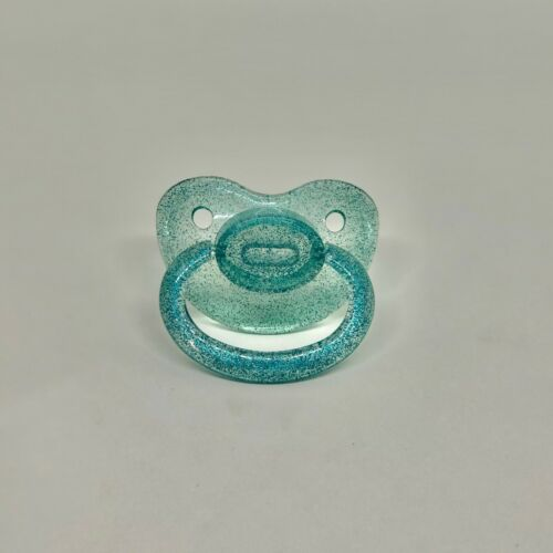 Glitter Adult-Sized Pacifier Soother Oral Fixation Little Space Age Regression