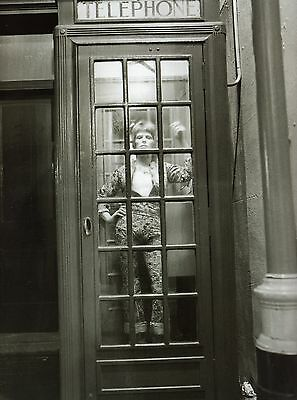 BOWIE ZIGGY STARDUST MINI LAMINATED A4  POSTER HEDDON STREET style 5