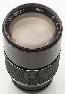 Porst-Tele-3-3-200mm-200-mm-Auto-D-M42-Anschluss-DEFEKT