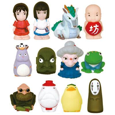 Spirited Away 12 Finger Puppet Set Sen Chihiro Haku Yubaba Kaonashi Ghibli Ebay