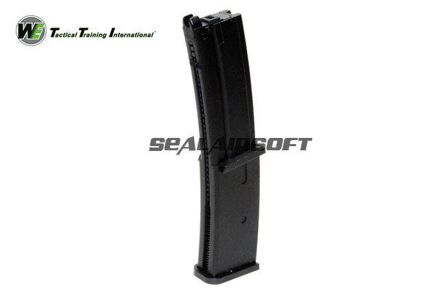Ci 40rds Airsoft Giocattolo Gas Magazine per SMG 8 MP7 SERIE GBB Nero WEMAG048