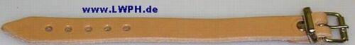 5 Natur Leder-Riemen 30 x 1,4 cm lang Kinderwagen Lederriemen Fixierungsriemen