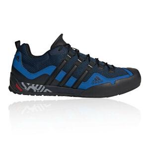 Détails sur Adidas Homme Terrex Swift Solo Approach Chaussures Baskets Baskets Bleu Noir afficher le titre d'origine