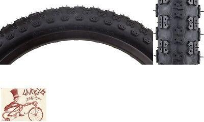 "SUNLITE MX3  18/"" x 2.125/"" BLACK BICYCLE TIRE"