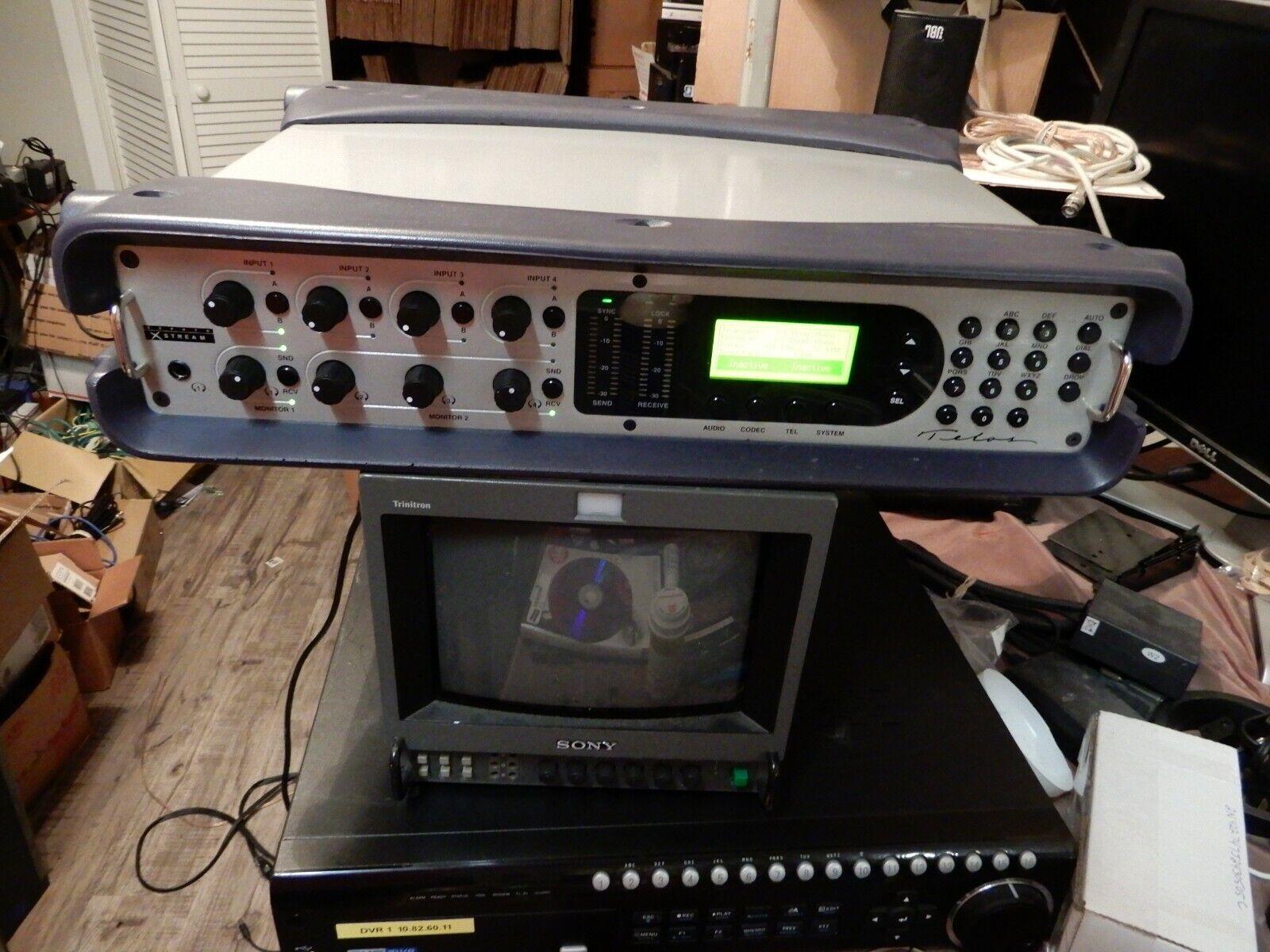 TELOS Zephyr Xstream MX ISDN Codec Digital Audio Transceiver w  4 Channel Mixer