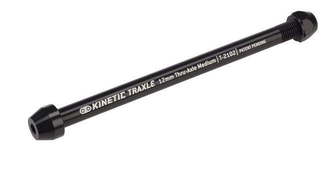 New Kinetic Thru Axle Medium 12 x 1.5mm pitch 185mm length