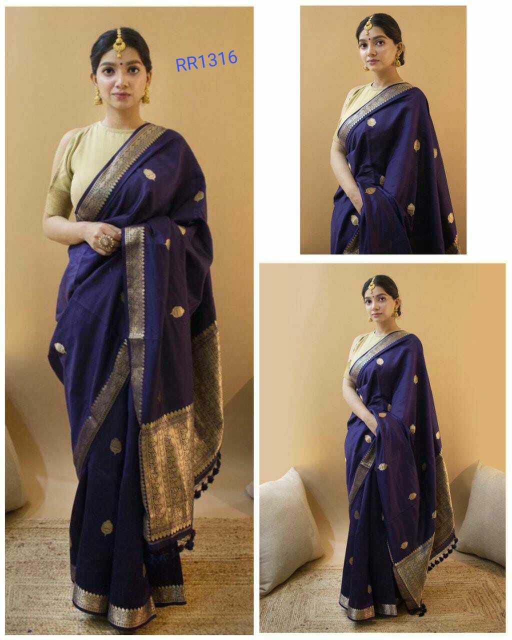 Kanchipuram silk saree Indian wedding formal heavy rich pallu with blouse