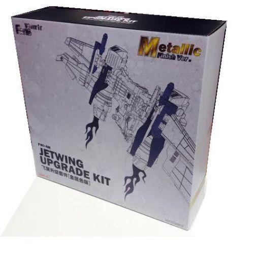 Fwi-4m Jetwing Upgrade Kit acabado metálico Ver. Traje Tf Ironhide Leader Op