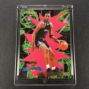 ANFERNEE-HARDAWAY-1994-FLEER-9-ROOKIE-SENSATIONS-INSERT-CARD-ORLANDO-MAGIC-NBA