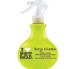 DRY-CLEAN-450ml-I-Love-Pet-Head-Blueberry-Muffin-bp-Spray-Shampoo-Clean-ml
