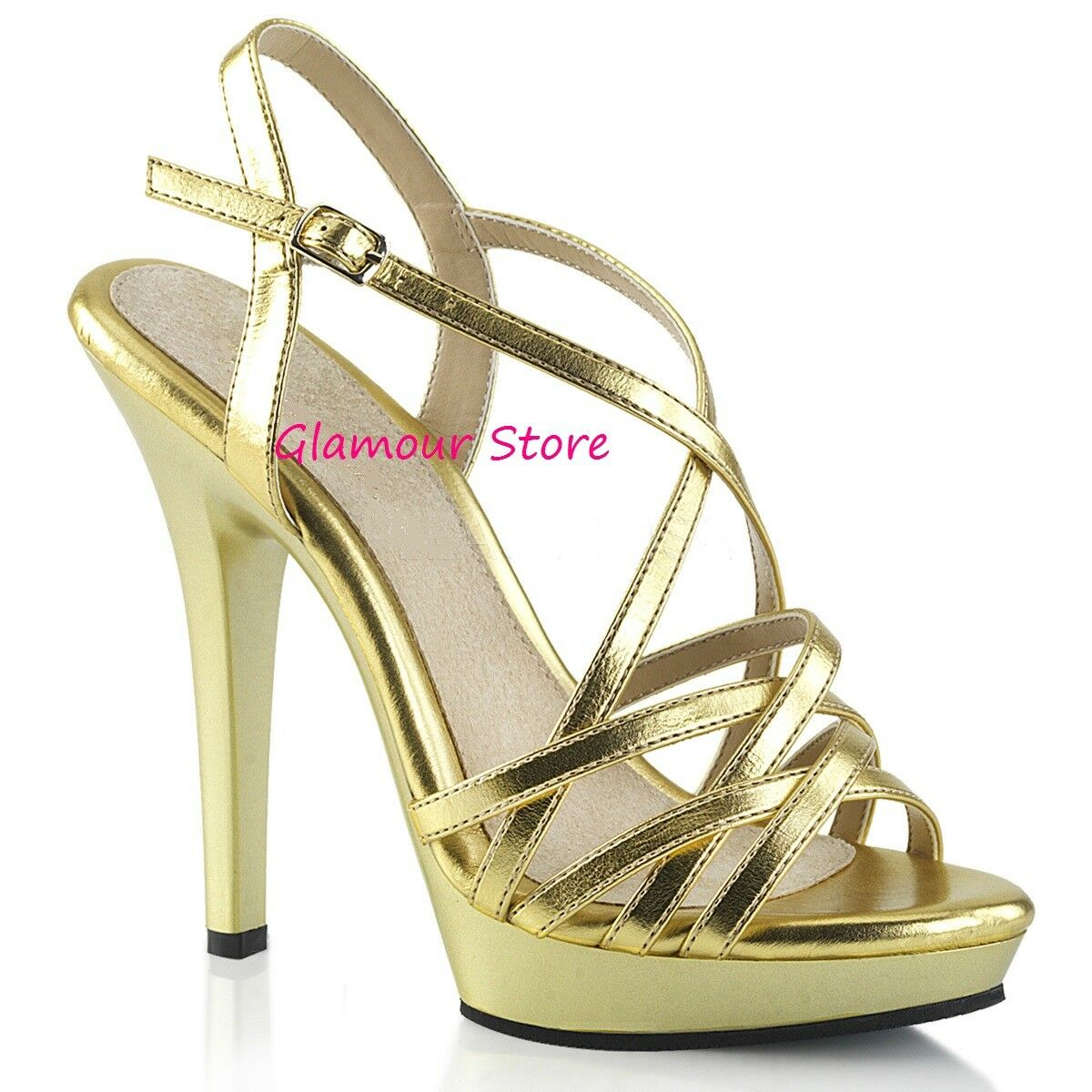 Sexy SANDALI tacco 13 dal 35 al 42 plateau plateau plateau 5 ColoreeeI cinturino scarpe GLAMOUR | Credibile Prestazioni  1bd6cf