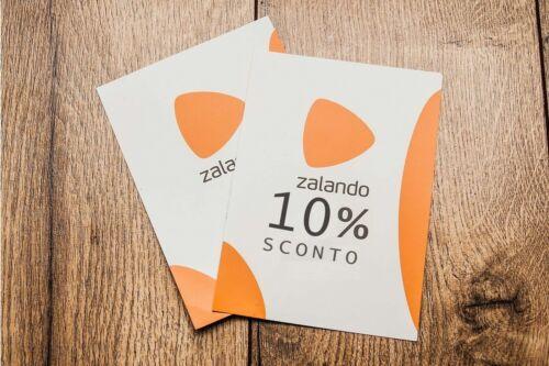 COUPON ZALANDO 10/% CODICE SCONTO BUONO ACQUISTO VOUCHER LEGGERE ISTRUZIONI