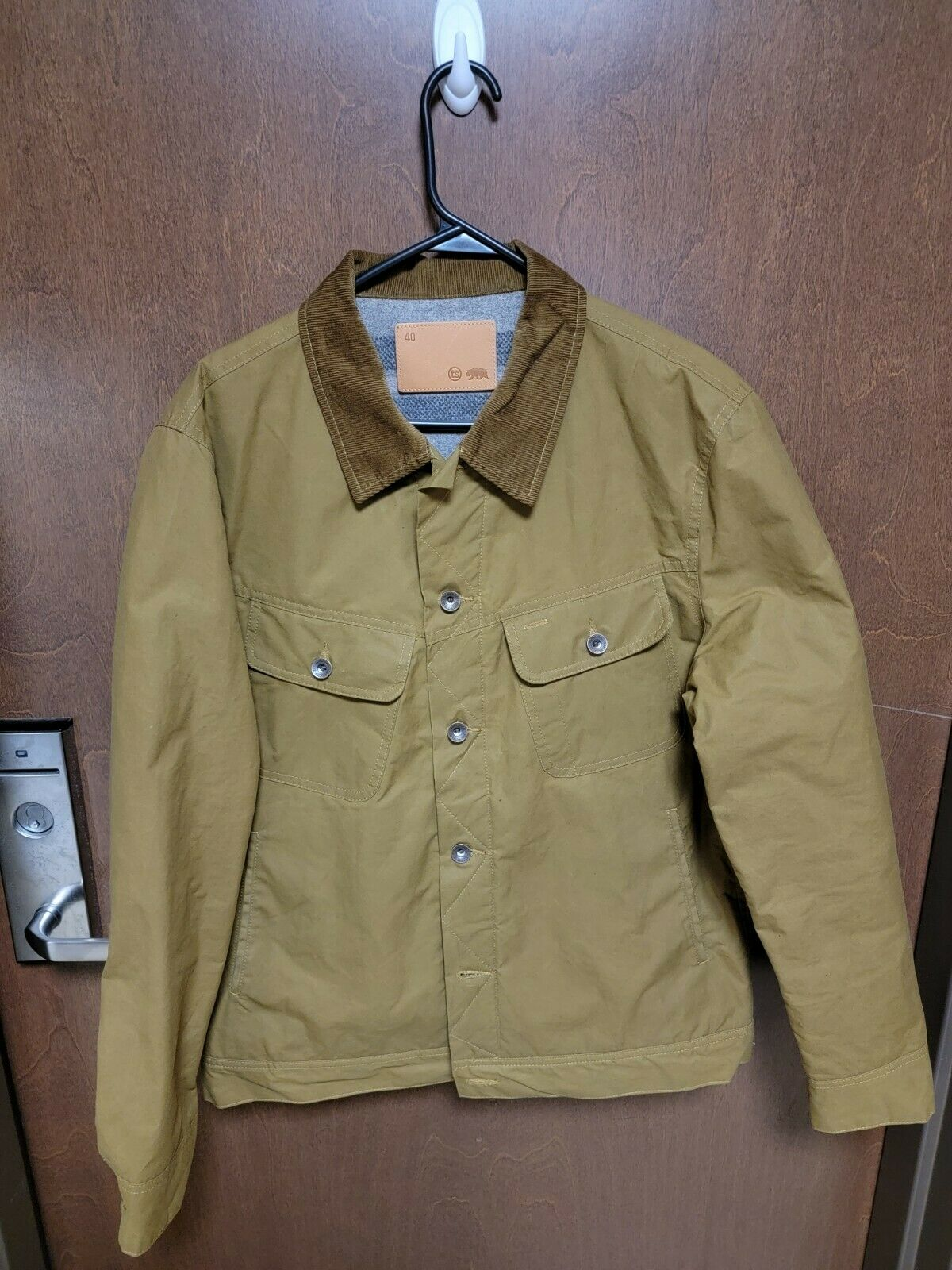 Taylor Stitch Long Haul Jacket in Harvest Tan Dry… - image 3